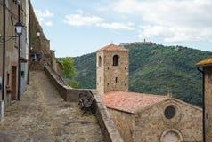 Średniowieczny stary miasteczko Obraz Royalty Free