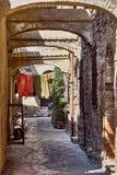 średniowieczny stary miasteczko Fotografia Stock