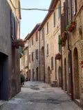 średniowieczny stary miasteczko Zdjęcie Royalty Free
