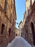 średniowieczny stary miasteczko Obrazy Royalty Free