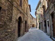 średniowieczny stary miasteczko Zdjęcia Royalty Free
