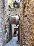 średniowieczny stary miasteczko Zdjęcia Stock