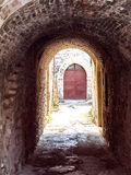 średniowieczny stary miasteczko Obraz Stock