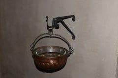 Średniowieczny stoup Zdjęcie Royalty Free