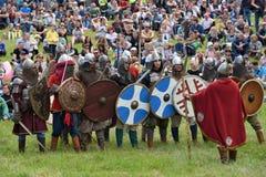 Średniowieczny walka festiwal Fotografia Stock