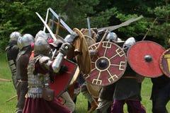 Średniowieczny walka festiwal Zdjęcia Royalty Free