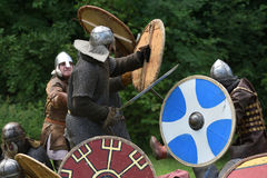 Średniowieczny walka festiwal Fotografia Royalty Free
