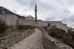 Średniowieczny warowny budynek w Travnik 02 Obraz Royalty Free