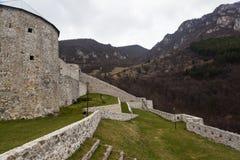 Średniowieczny warowny budynek w Travnik 03 Zdjęcie Royalty Free