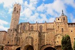 Średniowieczny wierza Santa Agat kaplica Fotografia Royalty Free