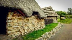 Średniowieczny willage Zdjęcie Stock