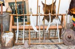 średniowiecznych miecze Zdjęcia Stock