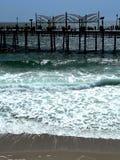 redondo пристани пляжа Стоковое Изображение