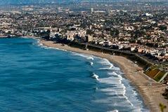Redondo Beach. From Palos Verdes Stock Photography
