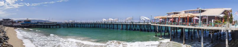 Redondo Beach pier Royalty Free Stock Images