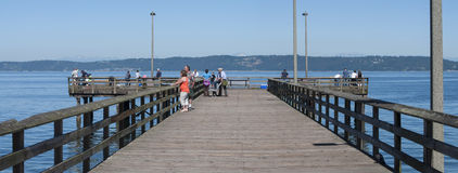 Redondo Beach pier Royalty Free Stock Image