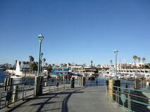 Redondo Beach Pier Walkway Royalty Free Stock Images