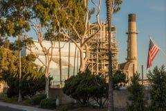 Redondo Beach Power Plant Royalty Free Stock Photography