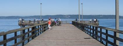 Redondo- Beachpier Lizenzfreies Stockbild