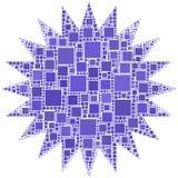 Redondo com 20 espinhas Fotografia de Stock Royalty Free