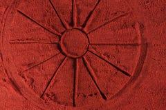 Redondo en pimienta Imagen de archivo libre de regalías