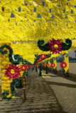 Redondo flower feast Stock Images