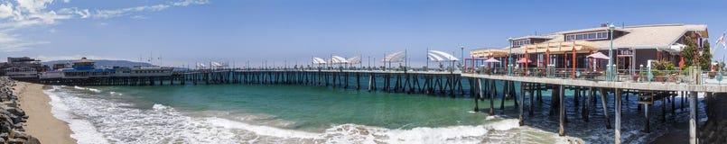 Redondo plaży molo Obrazy Royalty Free