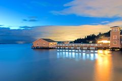 Redondo plaży molo zdjęcie royalty free