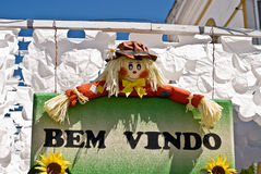 REDONDO, PORTUGAL -10 AUGUST 2013. Festival flower  in streets i Stock Photo