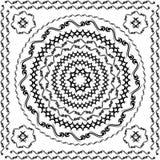 Redondo tribal del vector Imagenes de archivo