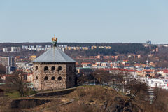 The redoubt Skansen Kronan in Gothenburg, Sweden. Built in the later half of the 17th century. Photo taken 2015-04-03 Stock Photos