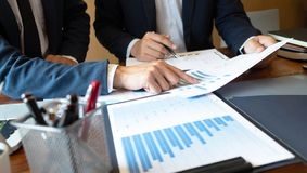 Redovisningskonsulent, för Financial Consultant Financial för affärskonsulent planläggning planläggning arkivbild