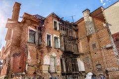 Redpath豪宅的极度痛苦 免版税图库摄影