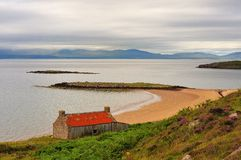 Redpoint salmon fishing station, Scotland Stock Photos