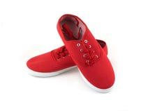 Redr butów odosobniony zbliżenie Obrazy Stock