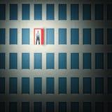 Redressez la décision illustration libre de droits