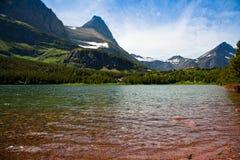 redrock озера Стоковое Изображение RF