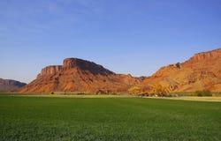 redrock фермы Стоковые Изображения RF