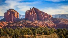 RedRock Arizona. The RedRock Monument in Arizona royalty free stock photos