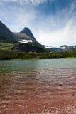 Redrock Lake and Mountains Stock Photos