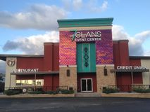 Redrock Oklahoma del casino de 7 clanes imagen de archivo libre de regalías