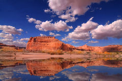 Redrock Reflections Royalty Free Stock Photography