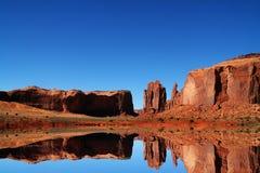 Redrock Reflexionen Stockbilder
