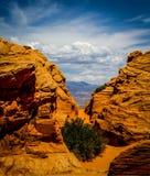 Redrock. Sand stone in southern Utah stock photos