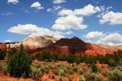 Redrock Schatten stockfotografie