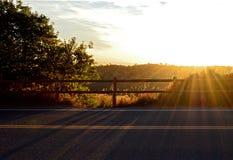 RedRocks-Sonnenaufgang Stockfotografie