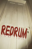 Redrum Fotografia Stock