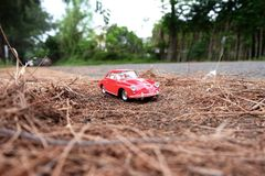The reds car royalty free stock photo