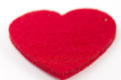 Reds heart Royalty Free Stock Photo