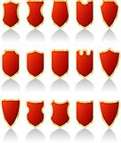 Redshields Royalty Free Stock Photos